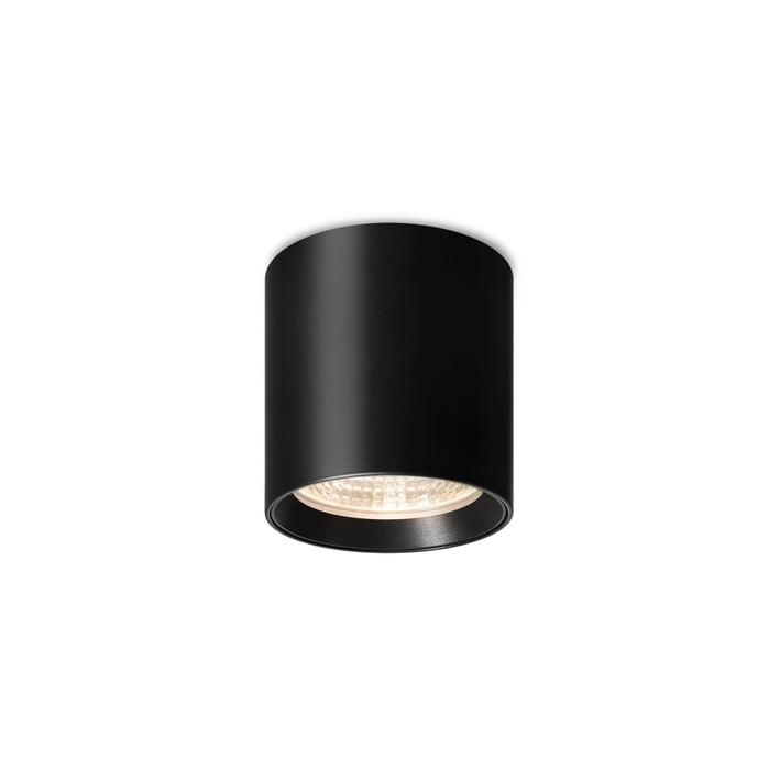 SEVENTIES recessed Downlight - black