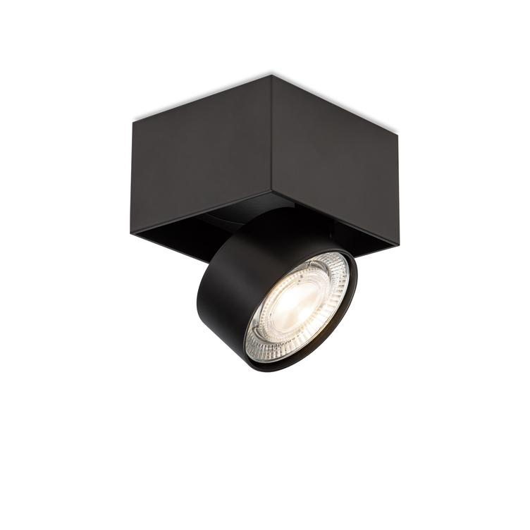 WI 4.0 `Single` semi-flush- black