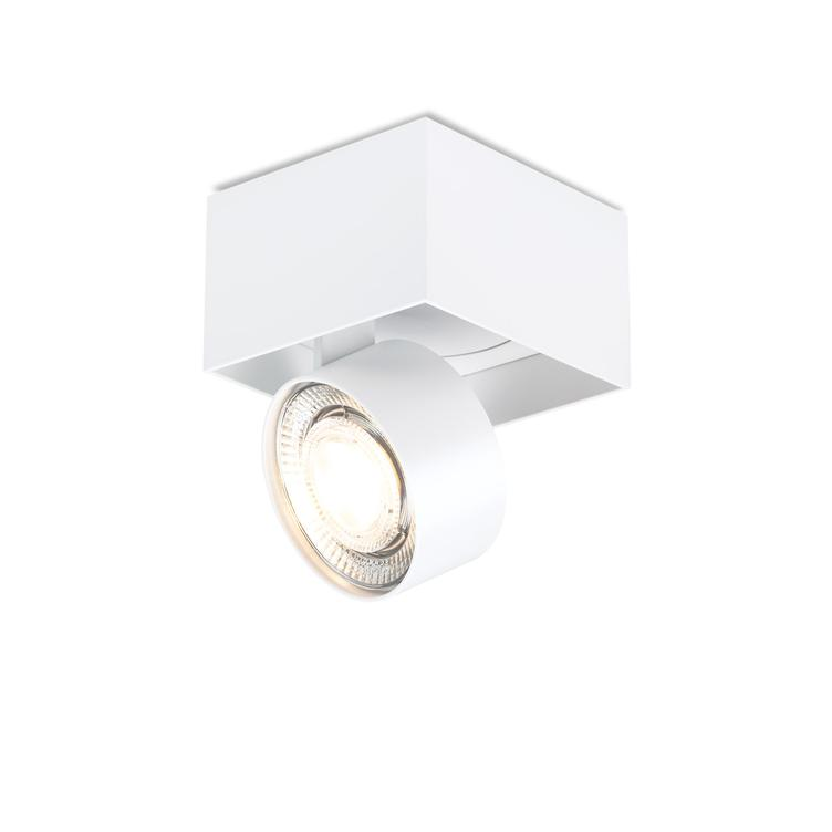 WI 4.0 `Single` semi-flush- white