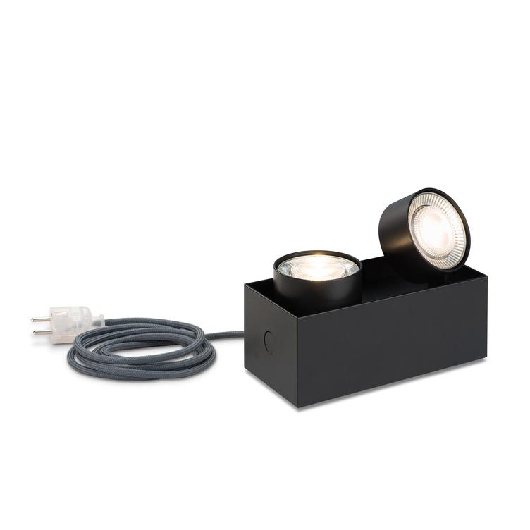 WI 4.0 `druff` shelf light - black