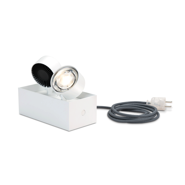 WI 4.0 `druff` shelf light - white